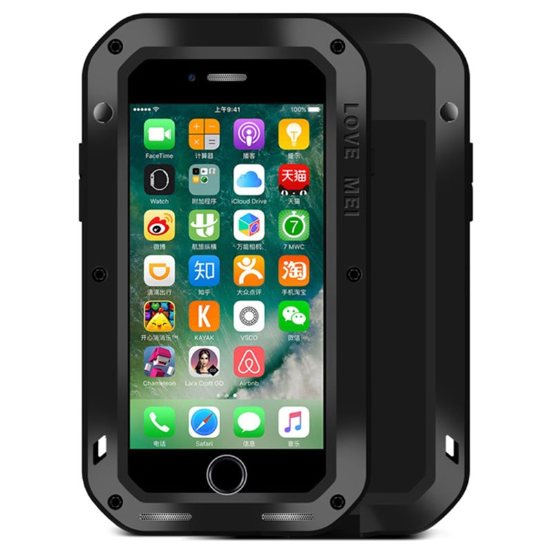 Love Mei Powerful Hybrid Case for iPhone 7 Black 24092016 01 p