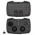 Rii RK707 3-in-1 Wireless Keyboard with Touchpad & Gamepad