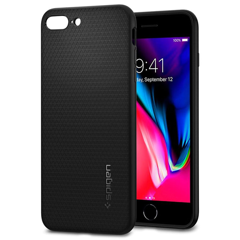 Spigen Liquid Armor TPU Case for iPhone 8 Plus Black 21092017 02 p