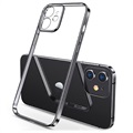 Coque iPhone 12 en TPU Sulada Plating Frame