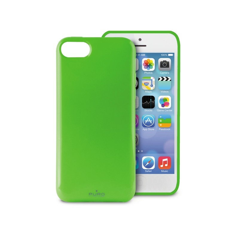 iPhone 5C Puro Anti Shock Case green 13092013 11 p