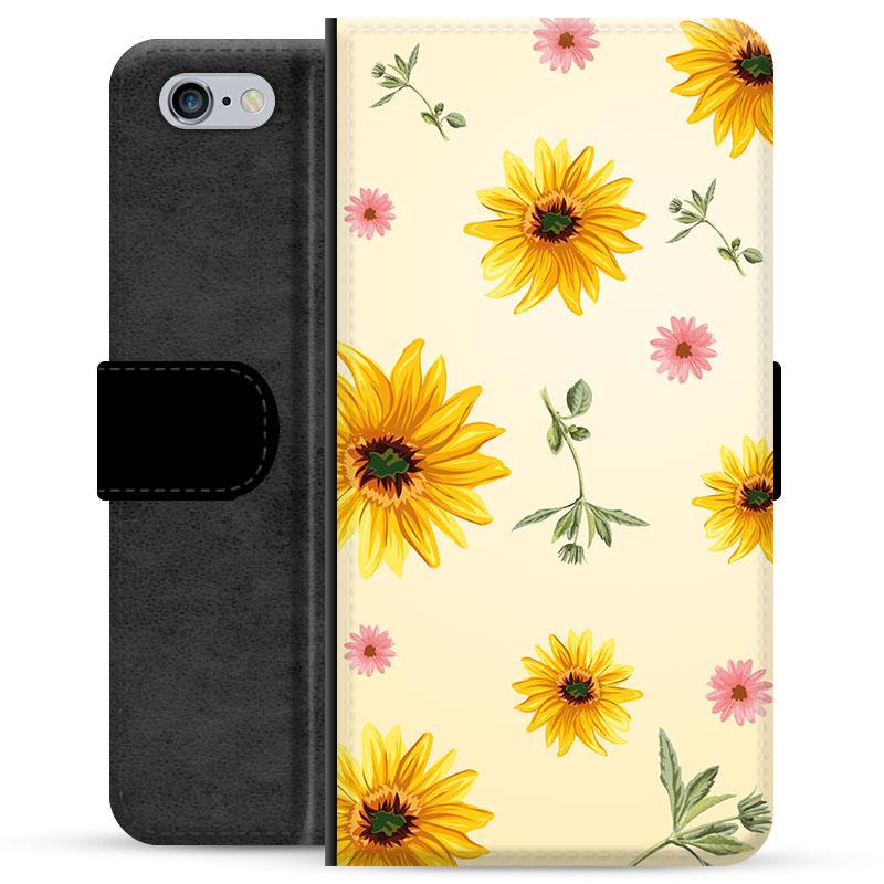iPhone 6 6S Designer Cover Wallet Sunflower 23092019 01 p