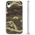 Coque Hybride iPhone XR - Camouflage