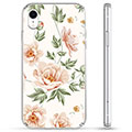 Coque Hybride iPhone XR - Motif Floral